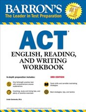 Barrons ACT English, Reading, and Writing Workbook   - Carnevale, Linda