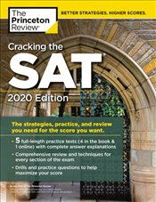 Cracking the SAT with 5 Practice Tests 2020 Edition -