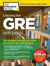 Cracking the GRE with 4 Practice Tests 2020 Edition  -
