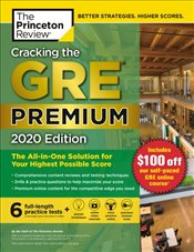 Cracking the GRE with 6 Practice Tests 2020 Premium Edition -