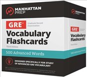 500 Advanced Words : GRE Vocabulary Flashcards   -