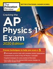 Cracking the AP Physics 1 Exam 2020 Edition -