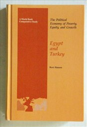 Egypt and Turkey : Political Economy of Poverty Equity and Growth - HANSEN, BENT
