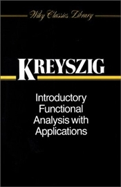 Introductory Functional Analysis with Applications WSE  - Kreyszig, Erwin
