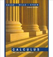 Calculus 8E : One and Several Variables - Salas, Saturnino L.