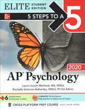 5 Steps to a 5 : AP Psychology 2020 Elite Student Edition - Maitland, Laura Lincoln