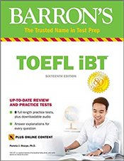 TOEFL iBT with Online Tests and Downloadable Audio 16e -