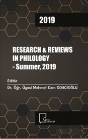 Research & Reviews in Philology : Summer 2019 - Kolektif