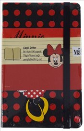 UC - Minnie Mouse Çizgili Defter 9x14 96yp. (MINNIE201-Ç) -