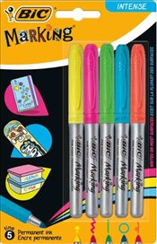 Bic - Marking Permanent Kalem (Intense-5li) -