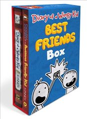 Diary of a Wimpy Kid : Best Friends Box : Diary of a Wimpy Kid Book 1 and Diary of an Awesome Friend - Kinney, Jeff