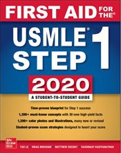 First Aid For The USMLE Step 1 2020 30e - Le, Tao
