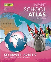 Philips Infant School Atlas : For 5-7 Year Olds - Noonan, Rachel