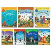 Julia Donaldson and Axel Scheffler Early Readers Pack x 7 - Donaldson, Julia
