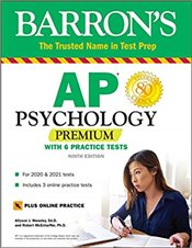 AP Psychology Premium : With 6 Practice Tests 9e -