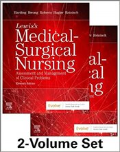 Lewiss Medical-Surgical Nursing - 2-Volume Set : Assessment And Management Of Clinical Problems - Harding, Mariann M.