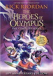 Heroes Of Olympus Paperback Boxed Set (10Th Anniversary Edition) - Riordan, Rick