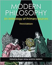 Modern Philosophy 3e : An Anthology Of Primary Sources - Ariew, Roger