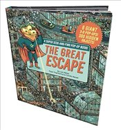 Great Escape : A Super Seek-And-Find Pop-Up Book! - Mehee, Loic