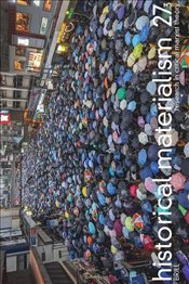 Historical Materialism Magazine Vol.27 No.3 2019 -
