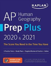 AP Human Geography Prep Plus 2020 & 2021: 3 Practice Tests + Study Plans + Review Notes + Online Res -