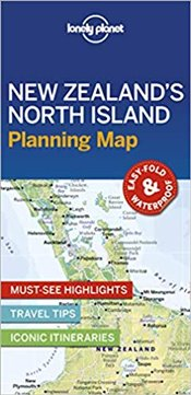 New Zealands North Island Planning Map -LP- -