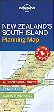 New Zealands South Island Planning Map -LP- -