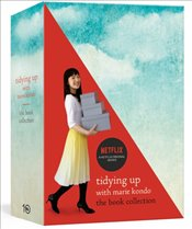 Tidying Up With Marie Kondo : The Life Changing Magic of Tidying Up and Spark Joy : Box Set - Kondo, Marie