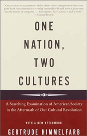 ONE NATION, TWO CULTURES : A SEARCHING EXAMINATION OF AMERICAN SOCIETY IN THE AFTERMATH OF OUR CULT - Himmelfarb, Gertrude