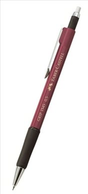 Faber Castell - Grip 1345 Versatil Kalem 0.5 (134521-Bordo) -
