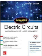Schaums Outline Of Electric Circuits 7e - Nahvi, Mahmood