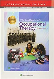 Willard Occupat Therapy 13E Int Ed - Barbara, Schell,