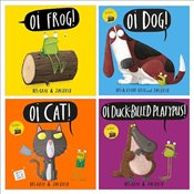 Oi Frog! Pack x 4 - Gray, Kes
