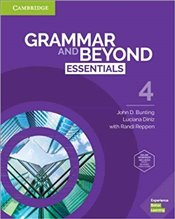 Grammar And Beyond Essentials Level 4 Students Book With Online Workbook - Bunting, John D.