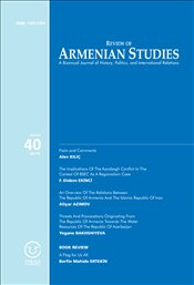 Review of Armenian Studies 40 - Komisyon