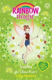 Rainbow Magic : Sasha The Slime Fairy - Meadows, Daisy