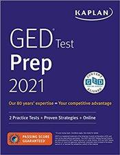 GED Test Prep 2021 : 2 Practice Tests + Proven Strategies + Online - Slyke, Caren Van