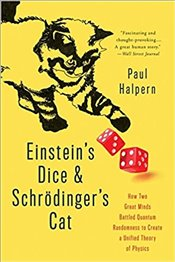 Einsteins Dice and Schrödingers Cat - Halpern, Paul