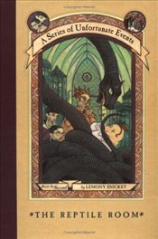 Series of Unfortunate Events 02 : Reptile Room - Snicket, Lemony