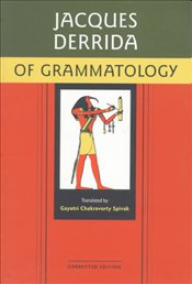 Of Grammatology : Corrected Edition - Derrida, Jacques