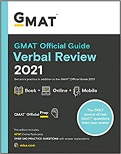 GMAT Official Guide Verbal Review 2021 - Book + Online - GMAC - Graduate Management Admission Council