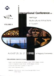 International Conference on Heritage Multicultural Attractions & Tourism 1998 Vol I - II - KORZAY, MERAL