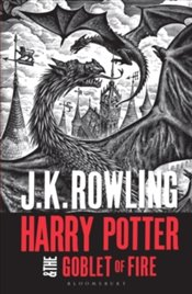 Harry Potter And The Goblet Of Fire (Harry Potter 4 Adult Cover) - Rowling, J. K.