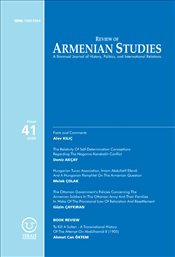 Review of Armenian Studies 41 - Komisyon