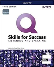 Q Skills for Success 3e : Intro Listening and Speaking SB + IQ Online PK  - McClure, Kevin