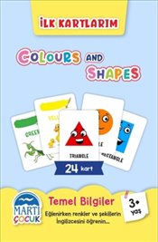 Colours and Shapes : İlk Kartlarım  - Kolektif