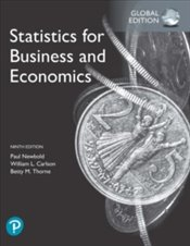 Statistics For Business And Economics, 9e - Newbold, Paul