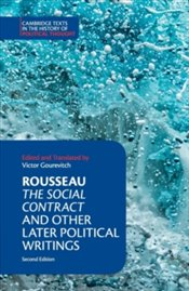 Social Contract And Other Later Political Writings - Rousseau, Jean-Jacques
