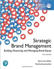 Strategic Brand Management : Building, Measuring, And Managing Brand Equity 5e - Keller, Kevin Lane