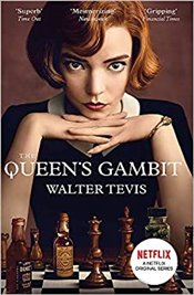 Queens Gambit (Netflix Series Tie-In Cover) - Tevis, Walter